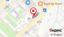 Гостиница Саланг на карте