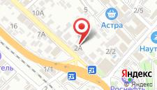 Гостиница Виктория Корпус 2 на карте