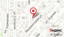 Мини-отель Диана на карте