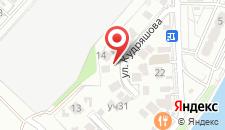 Гостевой дом Яна на карте