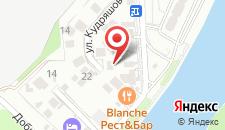 Гостиница Виолетта на карте