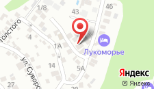 Гостевой дом Дом на Горке на карте