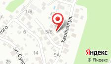 Гостевой дом Соловьиная трель на карте