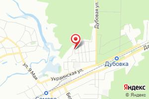 Адрес Газпром Газораспределения Воронеж, филиал в селе Новая Усмань на карте