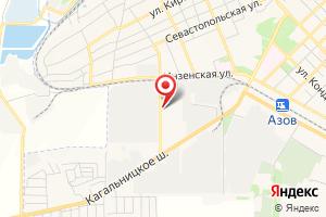 Адрес Россети Юг, Ростовэнерго, Производственное отделение Южные электрические сети на карте