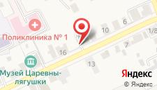 Отель Царевна-лягушка на карте
