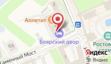 Гостиница Дом Фигурина на карте