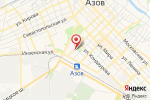 Адрес Азовмежрайгаз на карте