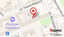 Отель Русское подворье на карте