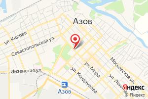 Адрес Донэнерго на карте