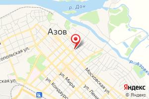 Адрес ГАЗ Сервис на карте