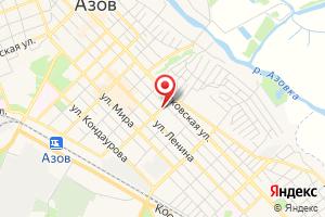 Адрес Азовводоканал на карте