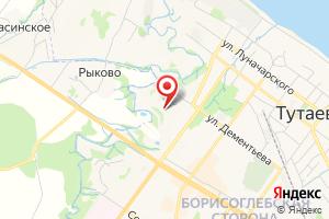 Адрес Тутаевские Коммунальные Системы на карте