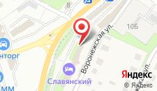ГРК Славянский на карте