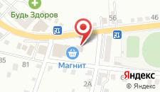 Отель Элиталь на карте