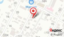 Гостевой дом Каприз на карте