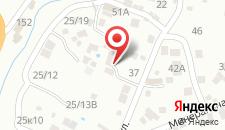 База отдыха Левша на карте
