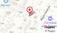 Гостевой дом Рузанна на карте