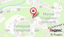 Гостиница Стрелецкая слобода на карте
