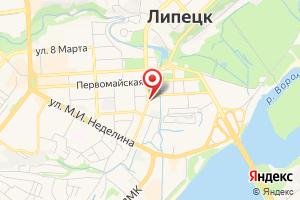 Адрес Газпром Межрегионгаз Липецк на карте