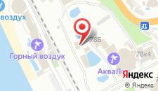 Отель АкваЛоо на карте