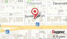 Гостиница Магнолия на карте