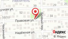 Гостиница Альфа на карте