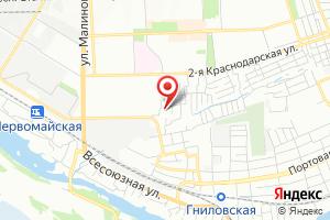 Адрес ИП Зверев Д. И. на карте