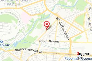 Адрес Ремонтная служба водоканала Октябрьского и Ворошиловского районов технологического района Север на карте