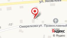 База отдыха Карп Савельич на карте