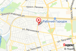 Адрес ВНС Сеченова на карте