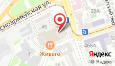 Гостиница Олимп на карте