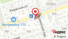 Отель AREDO на карте
