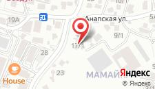 Гостиница Никос на карте
