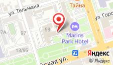 Гостиница Ростовчанка на карте