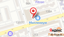 Гостиница Пушкинская Миллениум на карте