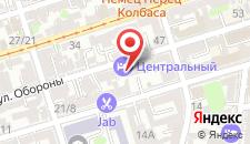 Мини-отель Центральный на карте