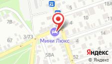 Гостиница Мини-Люкс на Погодина на карте