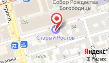 Гостиница Старый Ростов на карте