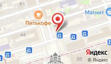 Гостиница Метрополитен на карте
