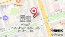 Гостиница Пушкинская на карте