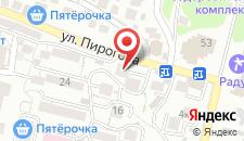 Хостел Радужный Ёж на карте