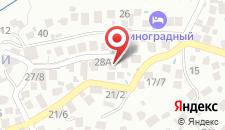 Отель У Яши на карте