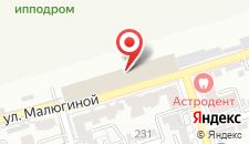 Гостиница Юг Руси на карте