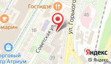 Апартаменты Комната На Горького 43 на карте