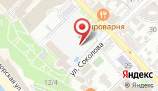Гостиница Приморская на карте
