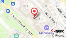 Отель Сочи-Магнолия на карте