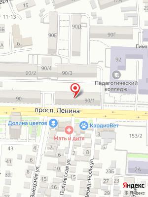 Роллы-на-Дону на карте