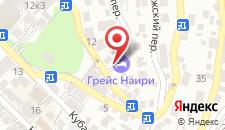 Гостиница Грейс Наири на карте