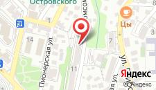 Хостел На Комсомольской на карте